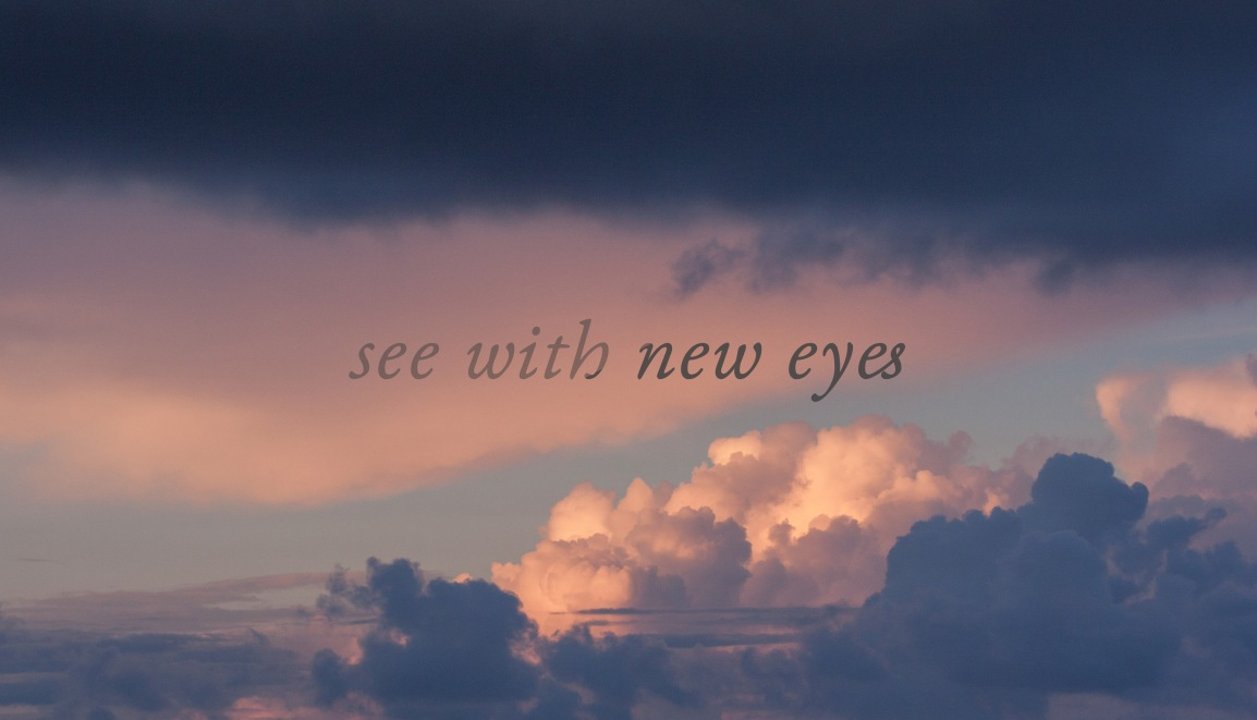 Gratitude: see with new eyes