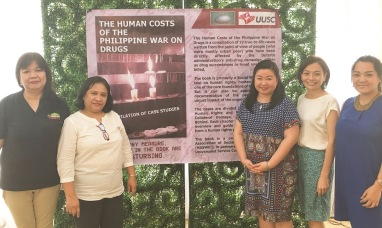 NASWEI President, Dr Melba L. Manapol; and VP - Visayas, Ms. Rose Sequitin with representatives of MAGIS: Kathy Ponce (Managing Director), Miah Tanchoco (Assistant Director for Program Management), Adi Santos (Communications Officer)