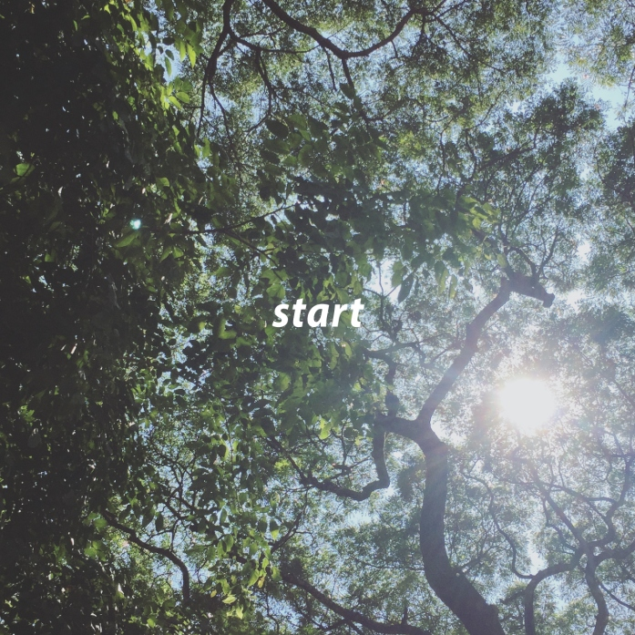 Start. Feel the atmosphere and how it carries the weight of potential. There's no better time than everytime to start, but this point in the year, in particular, is when your soul craves it. Breathe in your big ideas, your small ideas, and exhale intention. Now is the time.